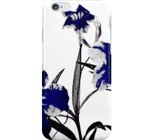 blue gothicus iPhone Case/Skin