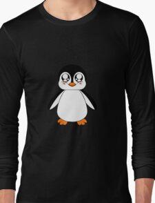 Adorable Penguin Long Sleeve T-Shirt