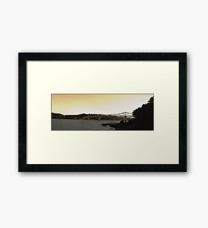 Madison Bridge Framed Print