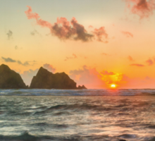 Cornish Sunset Sticker