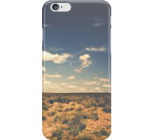 Wide Open West Sand Sun and Sage iPhone Case/Skin