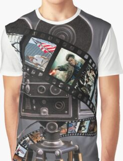 Film Strip Art Graphic T-Shirt