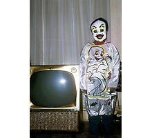 1960s Found Photo Halloween Card - Casper The Friendly Ghost Photographic Print