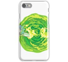 Rick and Morty Portal Jump iPhone Case/Skin