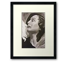 Reflections of a Diva Framed Print