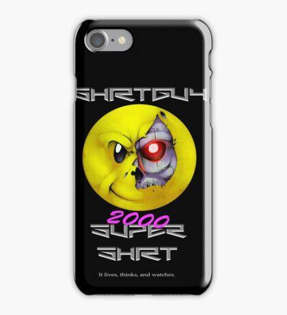 Shirtguy 2000 Super Shirt iPhone Case/Skin