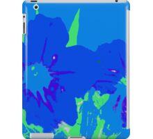 Blue Pop iPad Case/Skin