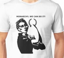 Riveting Rosie Monarchy Unisex T-Shirt