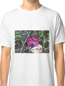 colorful leaves in the forest Classic T-Shirt