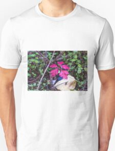 colorful leaves in the forest Unisex T-Shirt