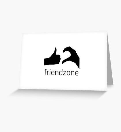Friendzone Greeting Card