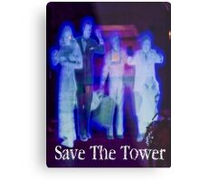 Save The Tower Metal Print