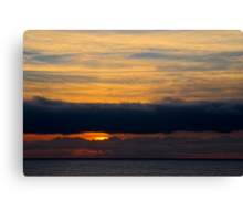 Almost Day's End Canvas Print