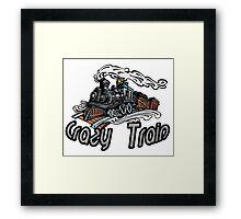 Crazy Train Framed Print