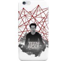 Stiles Stilinski Connected Lines iPhone Case/Skin