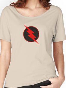 REVERSE FLASH Emblem Women's Relaxed Fit T-Shirt