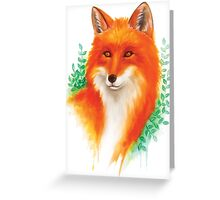 Fox Lovers Greeting Card