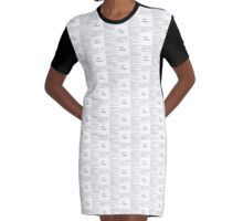Wear the Hate Graphic T-Shirt Dress