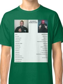 $uicideboy$ names ruby scrim Classic T-Shirt
