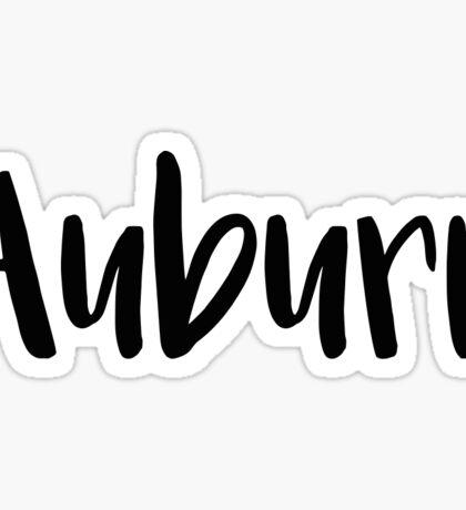 Auburn Sticker