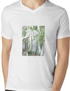 Banyan fence Mens V-Neck T-Shirt
