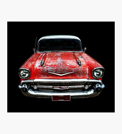 Rockabilly Racer Photographic Print