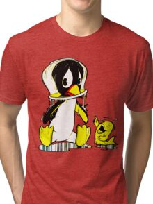 Penguin Bowl Tri-blend T-Shirt