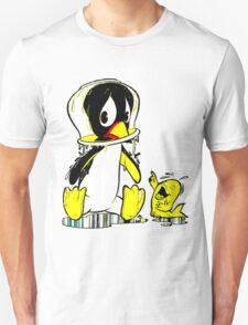 Penguin Bowl Unisex T-Shirt