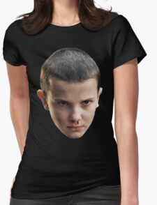 Eleven STRANGER THINGS Womens Fitted T-Shirt