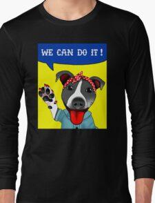 Lu the Riveter! Long Sleeve T-Shirt
