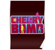 Cherry Bomb (Text) Poster