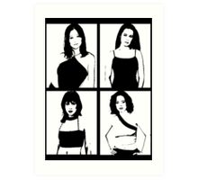 The Charmed Ones Art Print