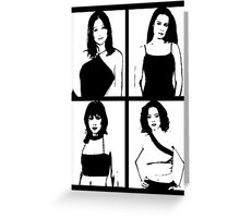 The Charmed Ones Greeting Card