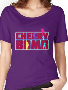 Cherry Bomb (Text) Women's Relaxed Fit T-Shirt