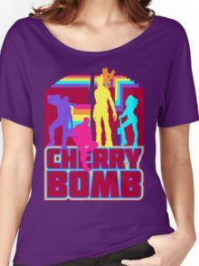 Cherry Bomb (Full) Women's Relaxed Fit T-Shirt