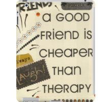 Good Friends iPad Case/Skin