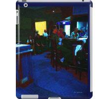 Blue Bar on a Monday iPad Case/Skin