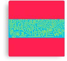 Clean Stripe (Sosa) Canvas Print