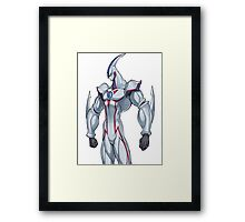 elemental hero neos yugioh Framed Print