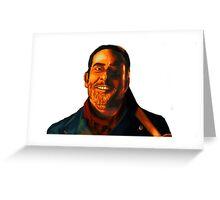 Negan Fanart- Orange Ver. Greeting Card