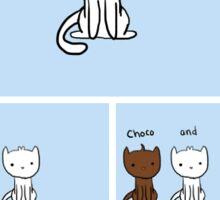 Smore Cat Sticker