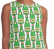 Champagne Papi Contrast Tank