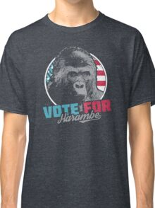 Vote for Harambe Classic T-Shirt