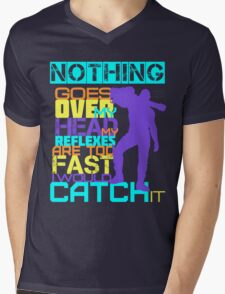 Nothing Goes Over My Head Mens V-Neck T-Shirt
