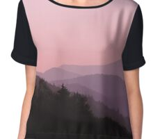 Smoky Mountains #03 Chiffon Top