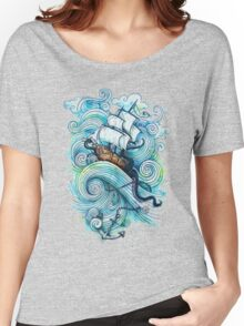 Wow It's a ship Tshirt Women's Relaxed Fit T-Shirt
