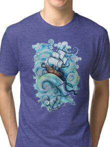 Wow It's a ship Tshirt Tri-blend T-Shirt
