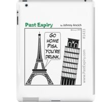 Cartoon : Leaning Tower of Pisa Italy iPad Case/Skin