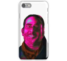 Negan Fanart- Magenta Ver. iPhone Case/Skin