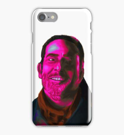 Negan Fanart- Magenta Ver. iPhone Case/Skin
